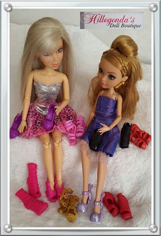 Shoes for Liv dolls and for Ever After High and Monster High dolls